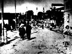 Район Старого Базару. На задньому плані видно вежі костьолу св. Анни