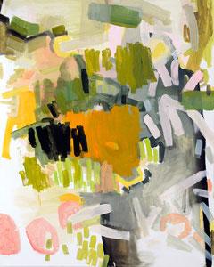 Susanne Möhring, hortus conclusus, 2010, Öl a. Lwd, 100 x 80 cm