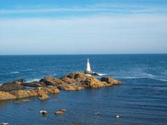 Schwarzes Meer in Bulgarien - ruhiges Ort an der Küste