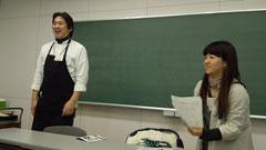 左が高野さん  右が藤本さん