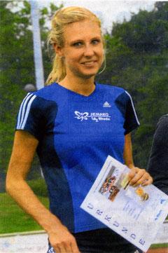 Jasmin Nieland steht am Wochenende im Aufgebot der SG Rhede-Sonsbeck-Wesel und wird die 800 und 3000 Meter laufen, eventuell sogar auch noch die 400-Meter Hürden. (Foto: Grütter)