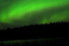 Polarlichter in Schweden/Lappland