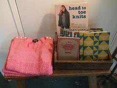 head to toe knit 彼女の出版した本