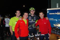 Reto; Markus; Simon und Sascha