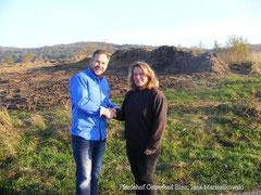 Herr Marcus Alex und Jana Marszalkowski, spende von 1.500,-€.