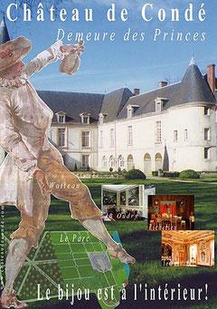 Château des Princes de Condé  - le bijou est à l'intérieur!