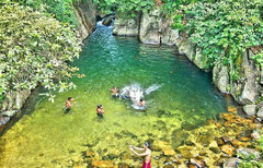 Nature-Pool, Central Province