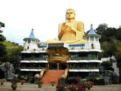 Dambulla, Golden Tempel