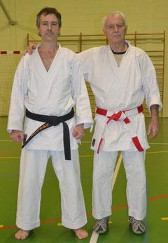 Thierry Tilleul et Jean-Luc Schroll