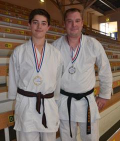 Tom Lemarchand et Emmanuel Lecuyer