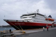 MS Richard With; dieses Schiff war 10 Tage unser Zuhause.