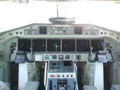 Cockpit einer Saab 2000 © Andreas Unterberg