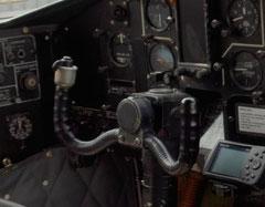 Steuerhorn einer Shorts SC.7 Skyvan 4M-400 © Andreas Unterbeg
