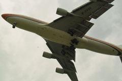 Fahrwerk einer Boeing 747-400 © Andreas Unterberg
