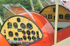 Zweisitzer Cockpit einer Vagabund © Andreas Unterberg