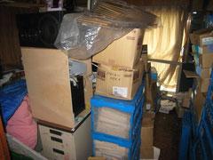 事務所の不用品の片付け、ゴミや廃棄物の撤去と回収処分作業