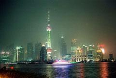 Shanghai / Blick nach Pudong
