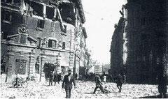 OmoGirando San Lorenzo - Piazza dei Sanniti dopo il 19 luglio del '43