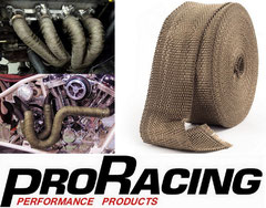 Lava Rock Exhaust Wrap / Heat Wrap 50ft/15m