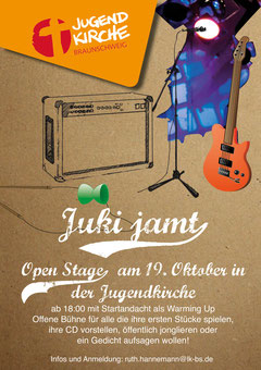 Open Stage Flyer 2012
