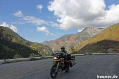 Farbenfrohe Bergwelt