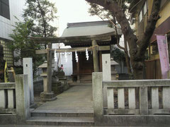 調布の神社