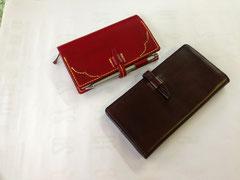 長財布と手帳カバー