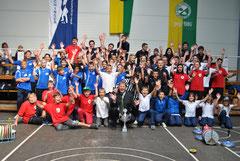 Die Teilnehmer des Jugendturniers