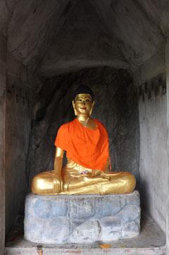 Ein schielender Buddha