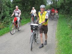 Peter freute sich, wenn Rad-Wandern bei uns Flachlandtirolern angesagt war