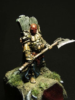 Primus Death  Enigma Miniatures by Pete Domm
