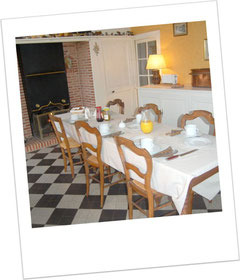 Salle à Manger de vos hôtes