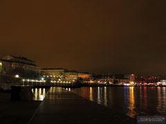 Ночь над Севастопольской бухтой
