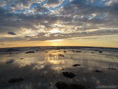 Так выглядит закат с крайней западной точки Севастополя - Мыса Херсонес