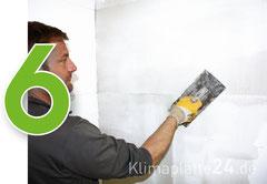 Klimaplatte verarbeiten - Klimaplatten verputzen und spachteln