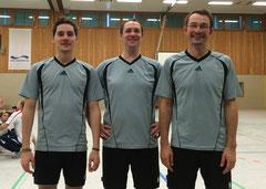 v.l. Noah Wilke, Ingo Steinert und Christian Weusterman