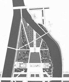 План мемориального комплекса