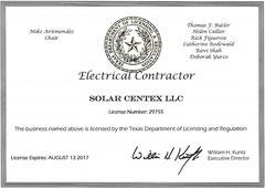 Solar CenTex TECL 29755