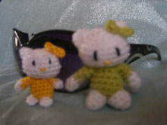 hello kitty en miniatura