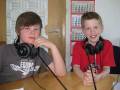Marcus und Marcel bei Radio Knackfrosch