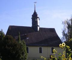 Blick auf die Kirche von Norden
