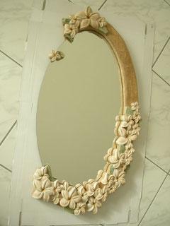Holzspiegel Holzskulptur Bea Widmer