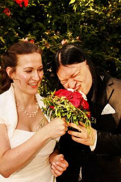 Herzlichen Glückwunsch Kathrin und Björn