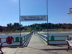 Seebrücke Göhren Nordstrand
