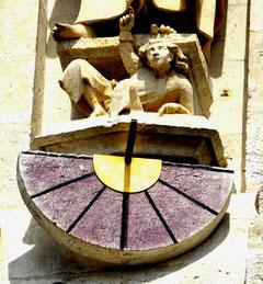 Le cadran solaire de la Cathédrale d'Amiens