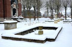 Bassin dans le jardin du Musée-Doullens