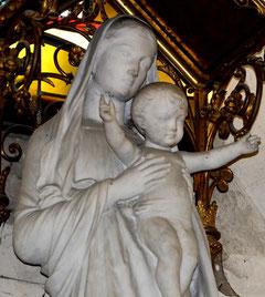 Vierge à l'Enfant- Eglise du Sacré Coeur