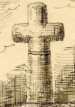 Chépy- Dessin d'après nature du 22-03-1884- BM- Abbeville