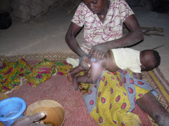 Mère et enfant de Silaleba