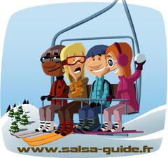 semaine ski-salsa Mars 2012